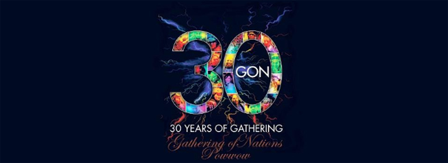 30th Anniversary of the Gathering of Nations Pow-wow in Albuquerque, New Mexico starts April 25th.