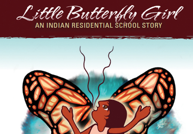 To order a copy of 'Little Butterfly Girl' in Anishinaabemowin, French or English, please call 705.497.9127 ext 2230