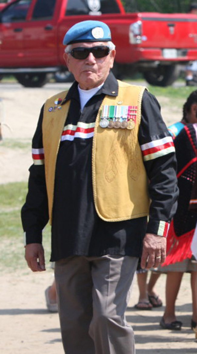 Veteran Bill Jamieson helped coordinate the participation of 50 Beausoleil FN citizens in Bicentennial Commemoration of the Battle of York on April 27th, 2013.