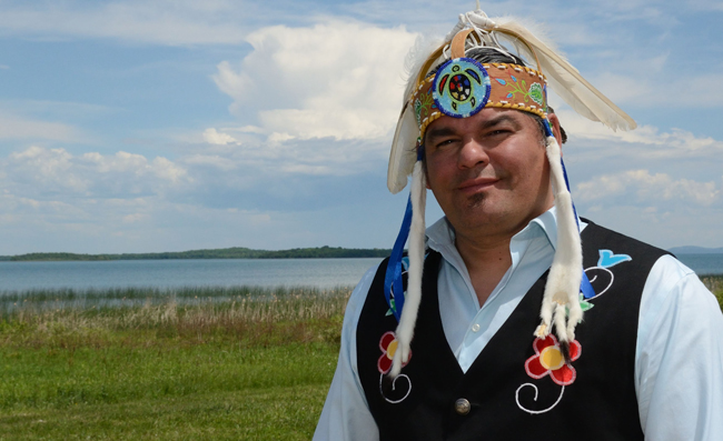 Serpent River Chief Isadore Day.    –  Photo by Monica Lister