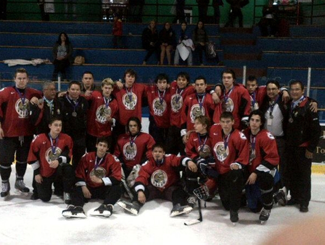 National Aboriginal Hockey Championship - 2013 Team Ontario, Silver Medal Winners