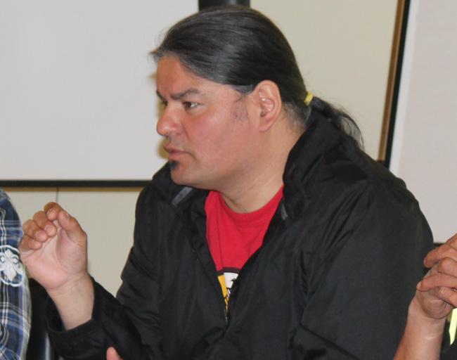 Chief Day at Lands meeting
