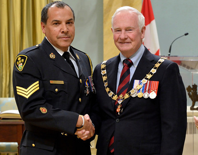 Ontario Provincial Police Sergeant George Couchie
