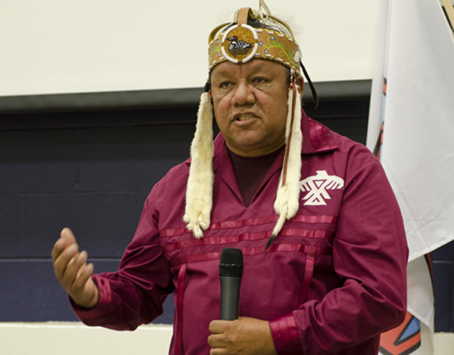 Anishinabek Nation Deputy Grand Council Chief Glen Hare.   – Photo by Monica Lister