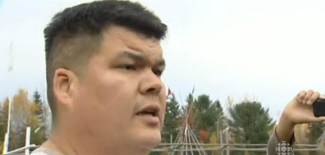 Elsipogtog First Nation Chief Sock.    – CBC News