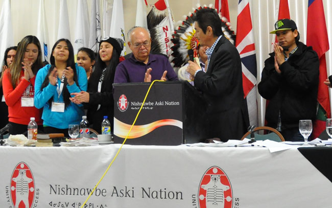 NAN First Nations Declare Inherent and Treaty Right to Control the Future of Education  Nov 7 2013 (2)