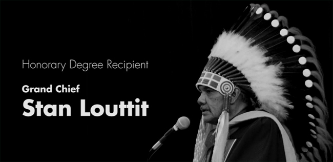 Grand Chief Dr. Stan Louttit.