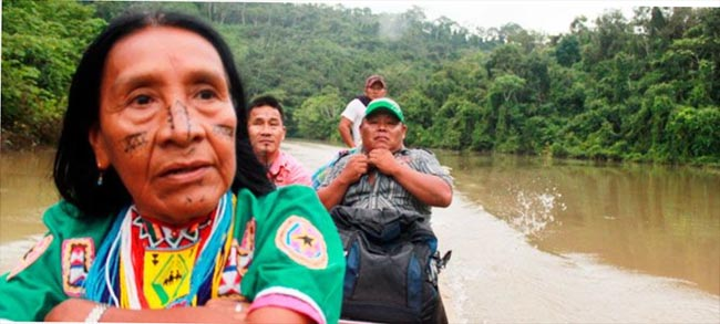 The ruling calls the government to reinstate the Embera Katio's land rights and aid the tribe in their return to the area, including making security improvements.