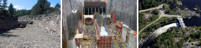 Okikendawt Hydroelectric Project Construction – Pictures Courtesy of Hydromega