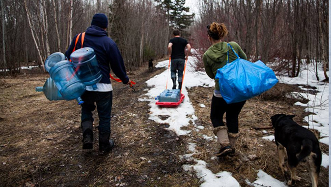 Fort William's Jacob McKay and a group of youth helped reclaim the community's sugar bush this past spring on Mt. McKay, a well-known landmark in the Robinson Superior community.