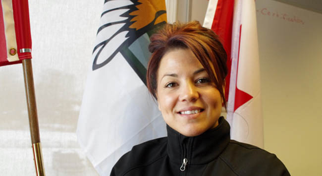Fort William Chief Georjann Morriseau wants to see more young First Nation women striving for leadership roles in their communities. She was elected as chief of her Robinson Superior community at the age of 28 and is putting her hat in the federal political ring.