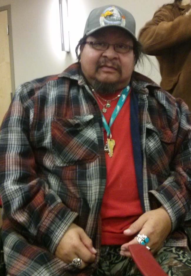 Aamjiwnaang First Nation citizen Mike Plain.
