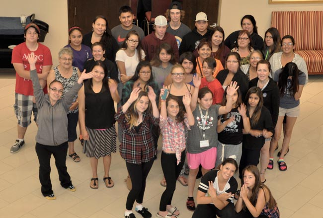 First Nations youth from across Ontario gathered in London this week to learn about healthy relationships, traditional teachings, and safety in their communities.