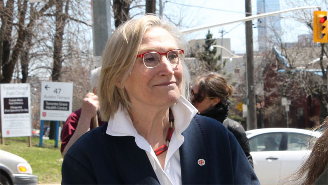 Minister of Indigenous and Northern Development, Carolyn Bennett