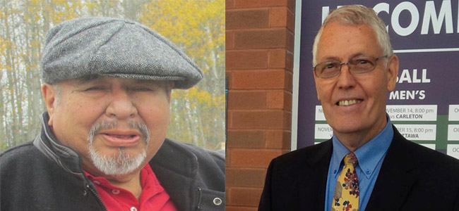 Herb Nabigon and John Long – two teachers who have passed into the Spirit World.