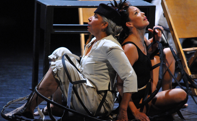 Re-Quickening premieres April 28 Toronto's Harbourfront, Fleck Centre Theatre.  – Photo by Brenda Hernandes