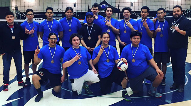 Chippewas of the Thames boys volleyball team captured the bronze in Sault Ste. Marie.