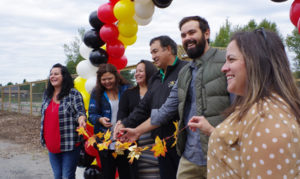 Fort William celebrated the grand opening of the Gaa-Azhe-Anishinaabeyaayang (Back to our Ways) Community Garden on Sept. 22 with a ribbon cutting and feast.