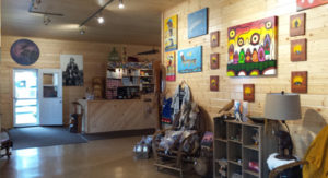 Sumac Creek Tipi and Trading Company owners Jeff and Karen Jacobs opened up a new art gallery featuring art from around the region and across Canada this past May.