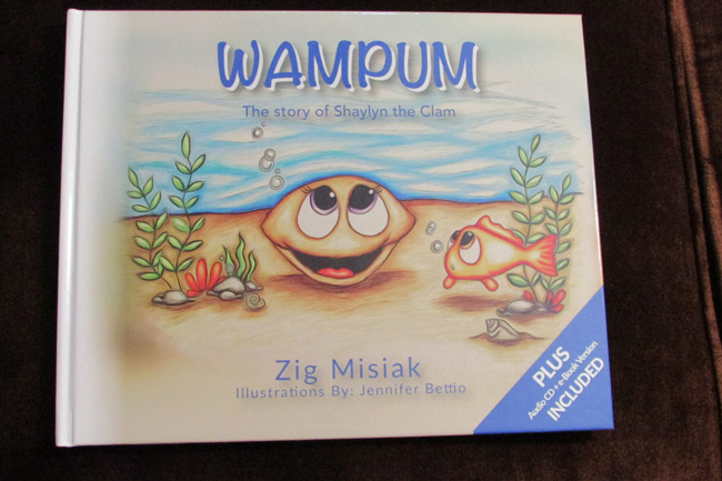Wampum: The story of Shaylyn the Clam