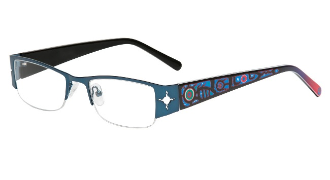 1d06695caac Chrétien s Ojibway-designs eyeglass frames hit the market