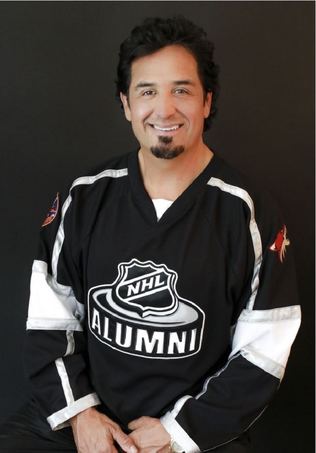 Former Hockey Pro Turns Motivational Speaker To Inspire Youth
