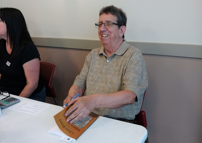 Aamjiwnaang historian and author launches new book