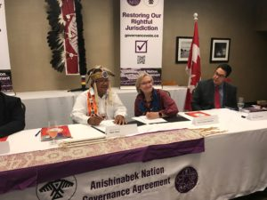 Anishinabek Nation and Canada celebrate key milestone on historic self-government agreement