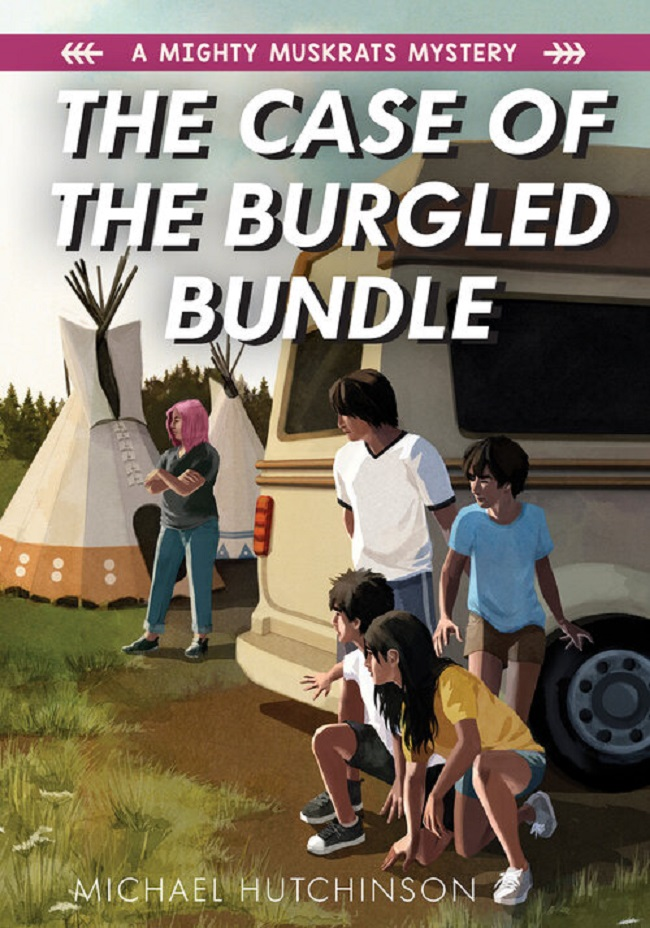 Book review: The Case of the Burgled Bundle: A Mighty Muskrats Mystery